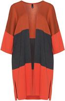 Manon Baptiste Plus Size Colour block cardigan