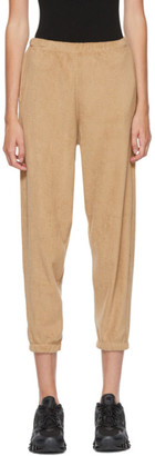Gil Rodriguez SSENSE Exclusive Beige Terry Beachwood Lounge Pants