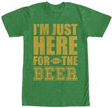 Fifth Sun Men's Tee Shirts KEL - Kelly Green Heather & Yellow 'I'm just here...' Tee - Men
