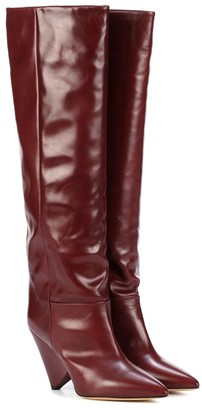 Isabel Marant Exclusive to Mytheresa Lokyo leather knee-high boots