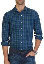 Nautica Classic-Fit Wrinkle Resistant Estate Plaid Shirt
