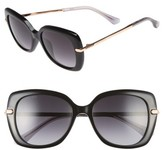 Jimmy Choo Women's Ludis 53Mm Gradient Sunglasses - Black/ Gold/ Copper