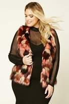 Forever 21 Plus Size Faux Fur Vest