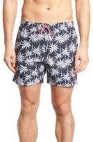 BOSS Piranha Palm Tree Swim Trunks