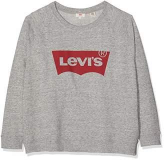 Levi's Plus Size Women's Pl Relaxed Graphic Crew Sweatshirt,XX-Large