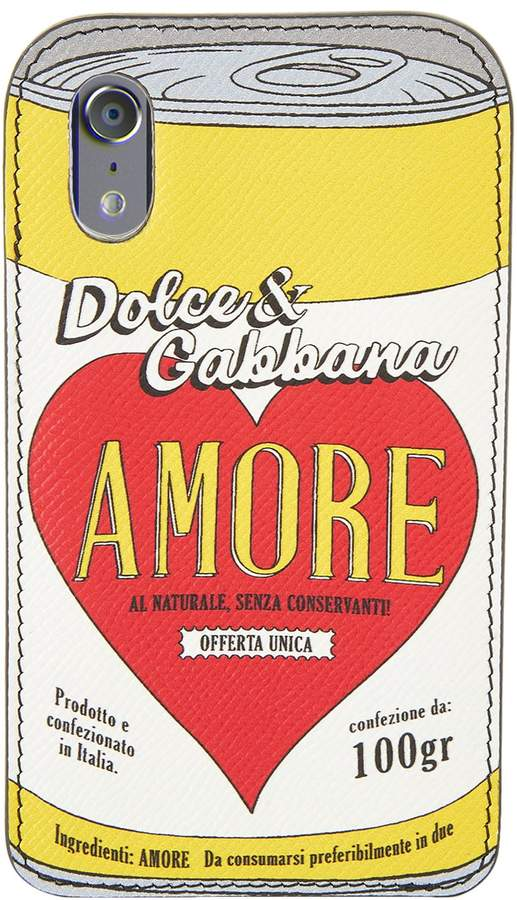 Dolce & Gabbana Amore iPhone X Phone Cover