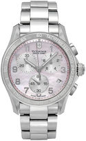Swiss Army Victorinox Watch, Women's Chronograph Stainless Steel Bracelet 41mm 249052
