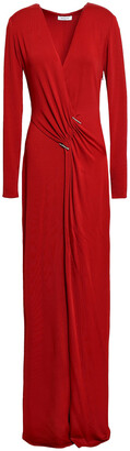 Thierry Mugler Gathered Jersey Gown