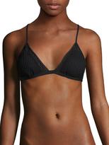 Red Carter Sun Dance Triangle Bikini Top
