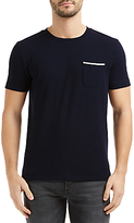 Hugo Boss Boss Orange Tile Short Sleeved Crew Neck T-shirt, Dark Blue