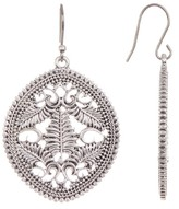 Lucky Brand Open Drop Earrings