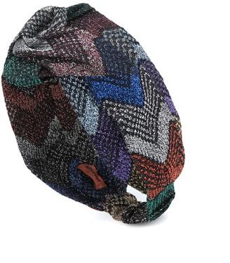 Missoni Chevron turban