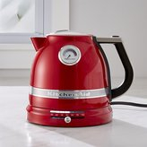 Crate & Barrel KitchenAid ® Pro Line Candy Apple Red Kettle