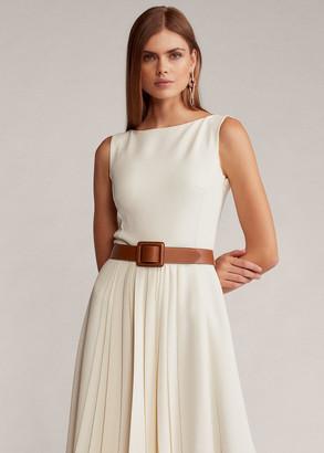 Ralph Lauren Rhona Crepe Day Dress
