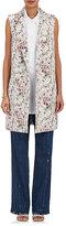 Victor Alfaro Women's Floral Cotton-Blend Jacquard Vest