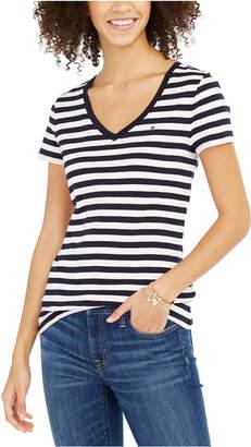 Tommy Hilfiger Striped Cotton T-Shirt