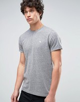 Abercrombie & Fitch Core T-Shirt Muscle Slim Fit In Grey