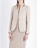Max Mara Cricket V-neck cashmere and wool-blend jacket