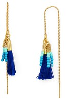 Rebecca Minkoff Threader Tassel Earrings