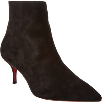 Christian Louboutin So Kate 55 Suede Bootie