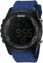 UNLISTED WATCHES Men's 'Sport' Quartz Metal and Silicone Casual, Color:Blue (Model: 10030902)