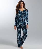 Midnight by Carole Hochman Floral Modal Pajama Set - Women's