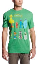 Sesame Street Men's Characters T-Shirt