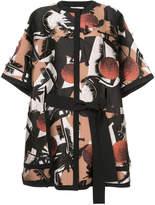 Roksanda jacquard oversized jacket
