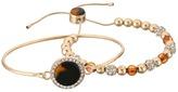 GUESS Duo Bracelet Set w/ Tension and Slider Close Bracelet Bracelet