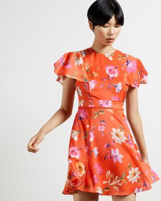 Ted Baker MIRA Rhubarb mini dress