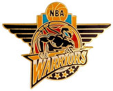 Aminco Golden State Warriors Logo Pin