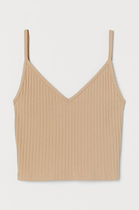 H&M Short Jersey Camisole Top