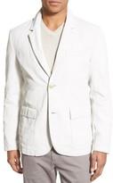 James Perse Men's Linen Blend Sport Coat
