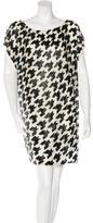 John Galliano Embellished Silk Dress w/ Tags