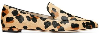 Cole Haan Brie Leopard-Print Calf Hair Leather Loafers