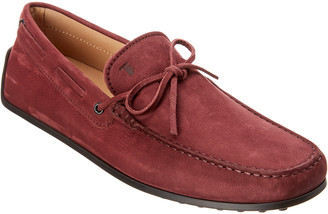 Tod's TodS Suede Moccasin