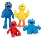 Sesame Street Gund Plush Collection