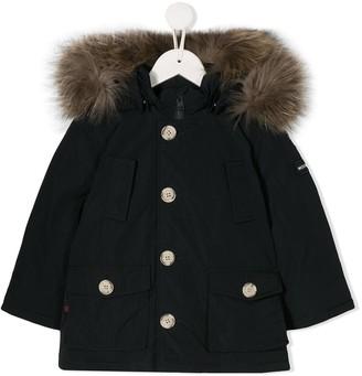 Woolrich Kids Hooded Padded Jacket