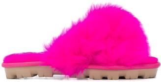 UGG Fuzzalicious faux fur slides
