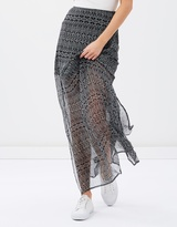 Janis Maxi Chiffon Skirt