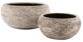 Notch Bowls (Set of 2)