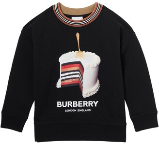 Burberry Kids Cake Print Sweatshirt (3-12 Years)
