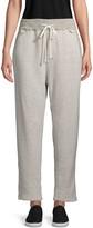 James Perse Drawstring Cotton-Blend Sweatpants