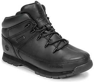 Timberland EURO SPRINT girls's Mid Boots in Black