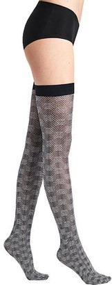 Wolford Granular Poison Thigh Highs