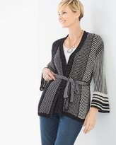 Chico's Ruffle-Sleeve Riley Cardigan
