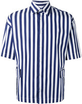 Marni striped short sleeve shirt - men - Cotton - 48