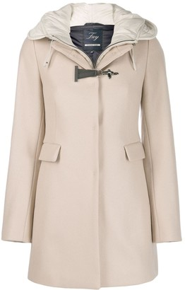 Fay Single Breasted Duffle Coat