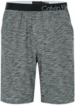 Calvin Klein Grey Space Dye Loungewear Shorts
