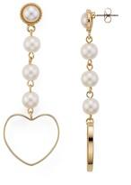 Aqua Natasha Heart Drop Earrings - 100% Exclusive